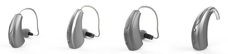 Hörgeräte Lütje - TELEFUNKEN TF 3-2 bis 9-2 Bauformen