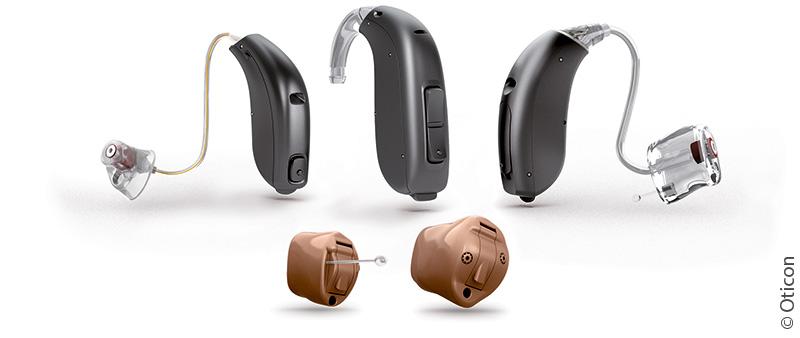 Hörgeräte Lütje - Oticon Geno Bauformen