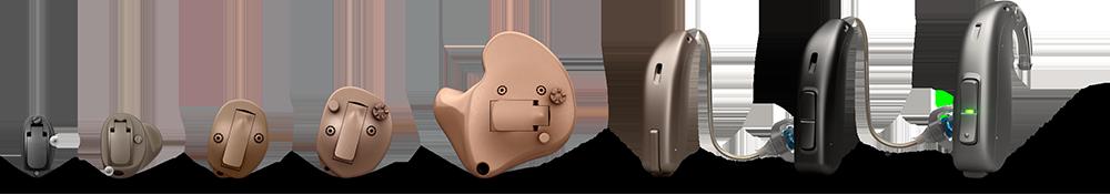 Hörgeräte Lütje - Oticon OPN Bauformen