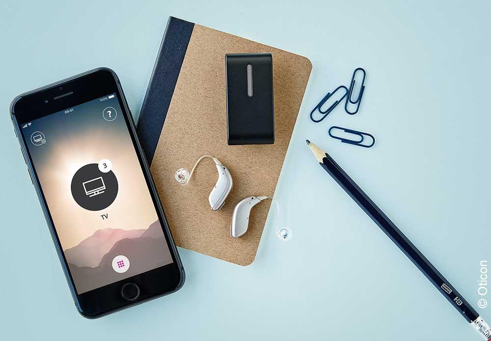 Hörgeräte Lütje - Oticon Siya Connect Clip