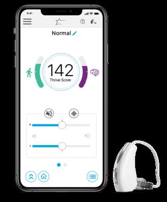 Hörgeräte Lütje - Telefunken Zubehör App