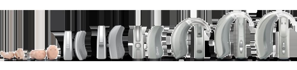 Hörgeräte Lütje - Widex Evoke Bauformen